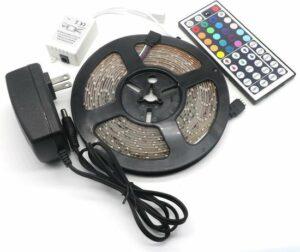 LED-strip - 5m - multi-colour - met afstandsbediening